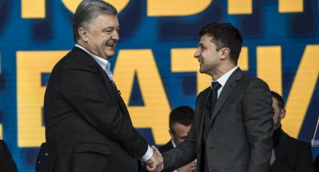 Лесев: Зеленский может уже публично извиняться перед Порошенко. Ну не было при Петре Алексеевиче коррупции и коррупционеров