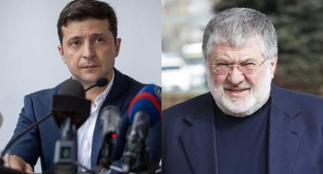 Вряд ли Зеленский сейчас готов начать полномасштабную войну против Коломойского. У президента просто нет для этого ресурсов - СМИ