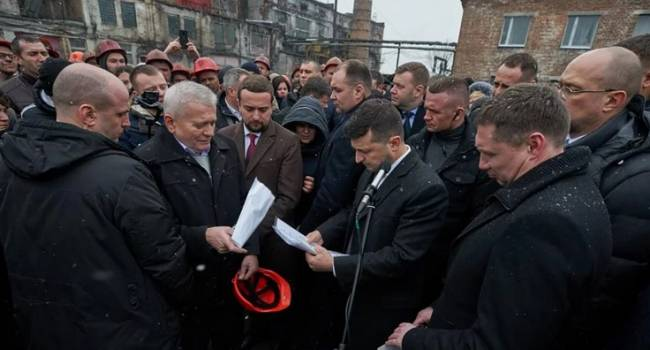 «Я, прежде всего, человек, и только потом президент»: Зеленский пообещал шахтерам решить проблему с долгами по зарплате