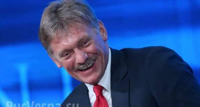 Пєсков: Росія «умиває руки» від призначення Пашкова в «ДНР»