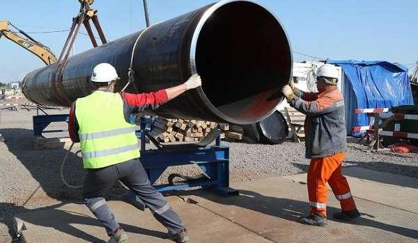 Россия отправила судно-трубопроводчик для завершения строительства «Северного потока – 2»