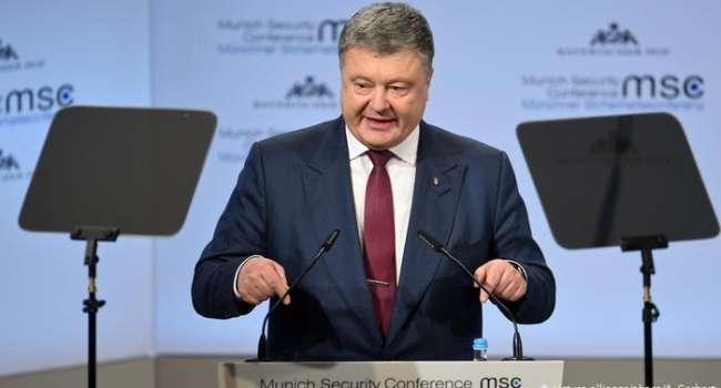 Порошенко сделал всю работу за Зеленского – после его протестов «мирный план», который разработали русские, снят с повестки дня Мюнхена