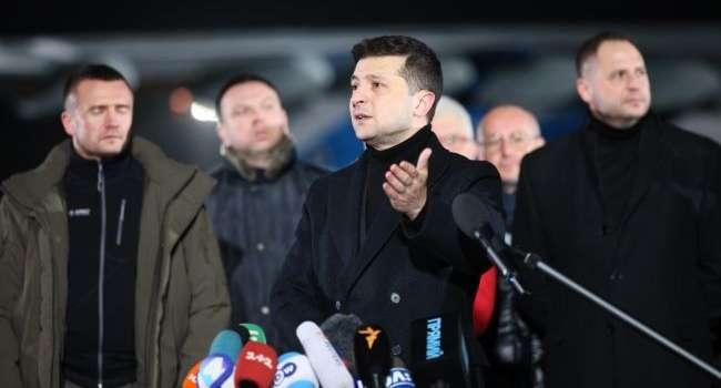 В больнице Борисполя на Зеленского с криками набросилась жительница Донецка