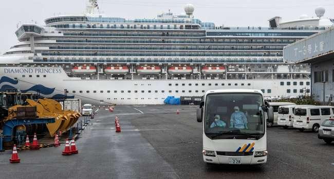Зафиксированы первые летальные исходы: на круизном лайнере скончались пассажиры из-за коронавируса