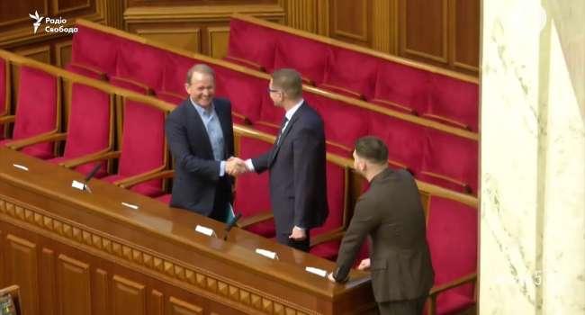 «Радостно пожал руку Баканову»: Медведчук прокомментировал свой поступок в Раде