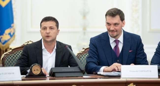 Политолог: результаты опроса Центра Разумкова подтвердили прогнозы экспертов – у Зеленского готовятся прощаться с Гончаруком