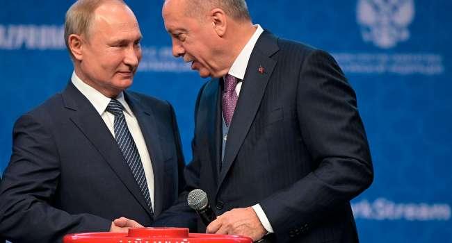 «Крым станет турецким»: Ганапольский предупредил, что Путину не стоит мериться с Эрдоганом детородными органами