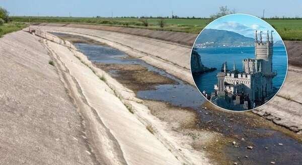 Оккупанты Крыма отказались от воды из Днепра: боятся отравления