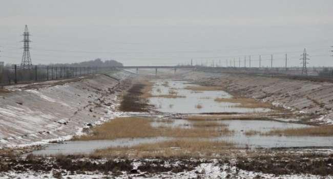 Днепровская вода в Крыму – это теперь вопрос времени, – политолог