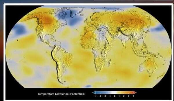 Неприятная картина: ученые показали, как ускоряется глобальное потепление