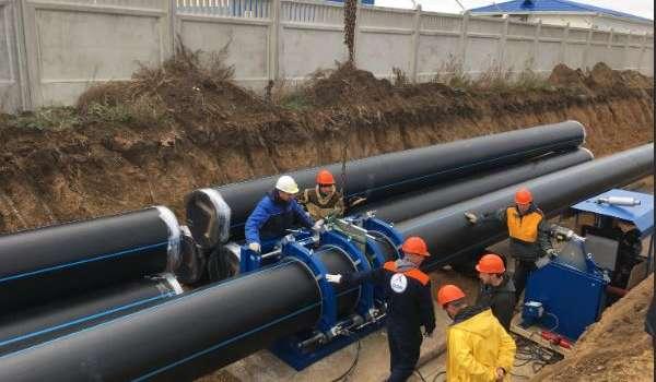 В Крыму сообщили о завершении работ по строительству нового тракта водоподачи