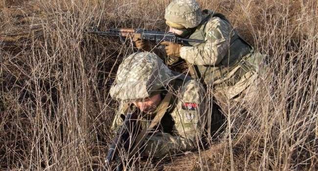 Гибридные войска России пошли в атаку на Донбассе: ВСУ потеряли двух защитников