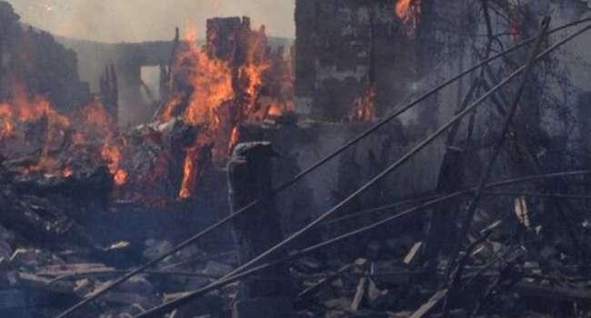 «Горловку разрывает от прилетов»: Местное население сообщает о беде в городе
