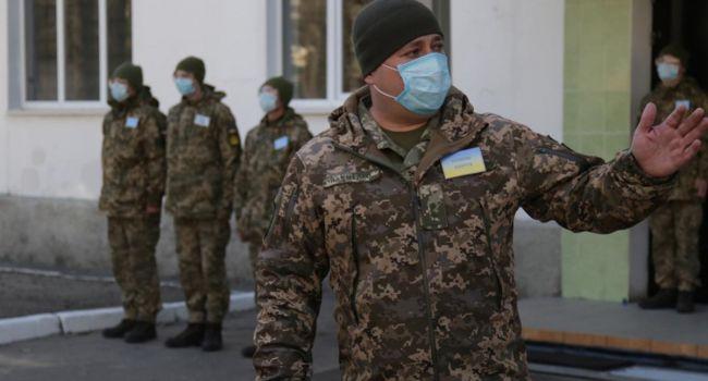 «Вернулись с командировок из других стран»: На обсервацию поместили 157 бойцов ВСУ