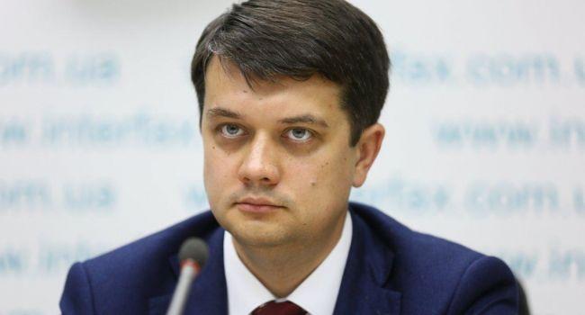 «Таких инициатив не было»: Дмитрий Разумков прокомментировал слухи о введении чрезвычайного положения в Украине