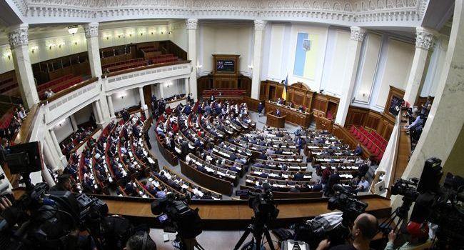 В Раде всего одна фракция не поддержала выделение денег из госбюджета на питание украинских военных