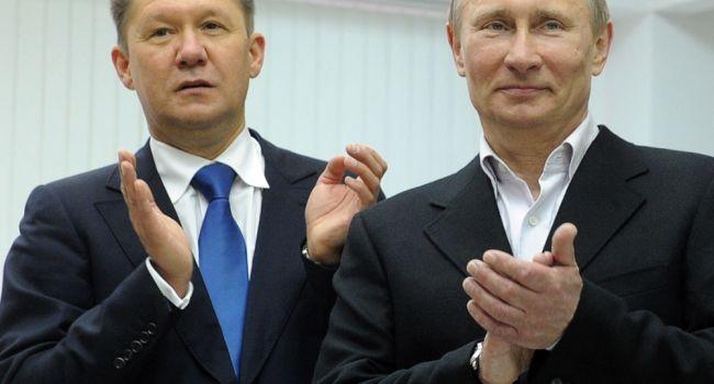Даже сейчас, когда катастрофа накрывает с головой, Путин с Миллером забирают последние крохи из госбюджета - мнение
