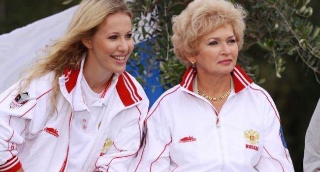 «Да что ж вы такие тупые»: мать Ксении Собчак обвинила ее и ее супруга в пьянстве