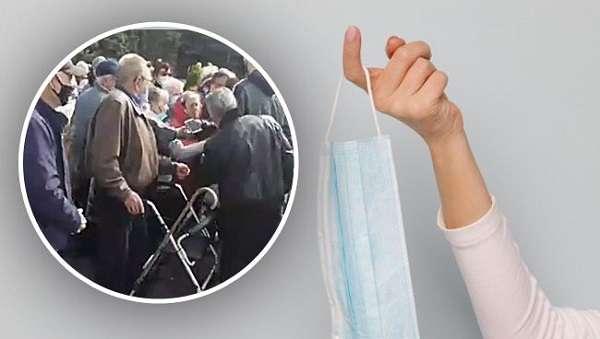 Ситуация вышла из-под контроля: пенсионеры под Одессой устроили жесткую бойню из-за масок