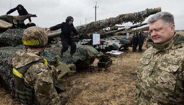 Порошенко заявил, что Украина скоро может начать кормить чужую армию, но не свою