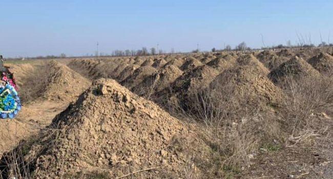«Тысячи мешков для трупов и закрытые гробы»: В Днепре на кладбищах появились более полтысячи свежих могил