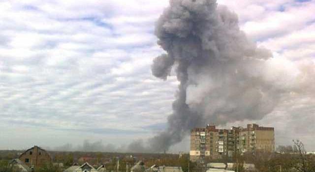 «Воинская часть» гибридных войск Путина?»: Весь Донецк вздрогнул от мощного взрыва