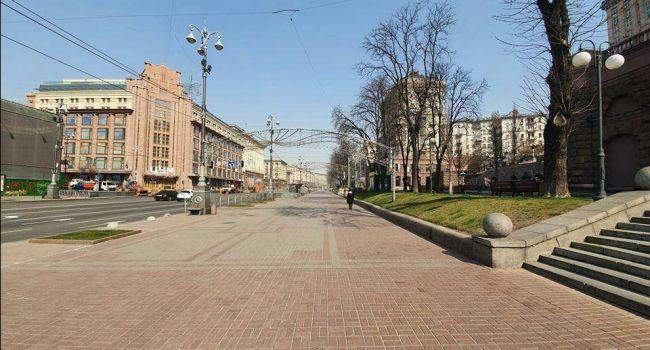 Коронавирус атакует Украину: Киев буквально опустел – фото