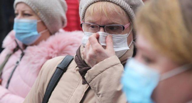 В Киеве за нахождение без маски в общественном месте можно «попасть» на 34 тысячи гривен