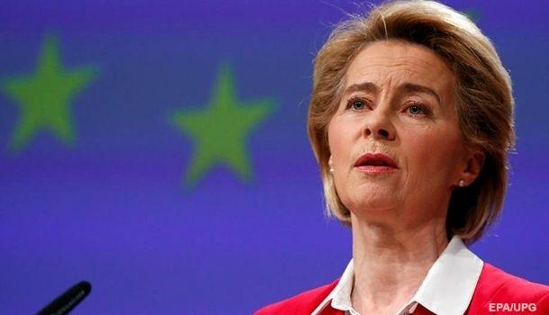 Глава Еврокомиссии заявила о необходимости плана Маршалла для преодоления эпидемии коронавируса