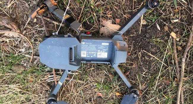 «Героям слава!»: Бойцы ВСУ сбили средство авиации боевиков, начиненное взрывчаткой