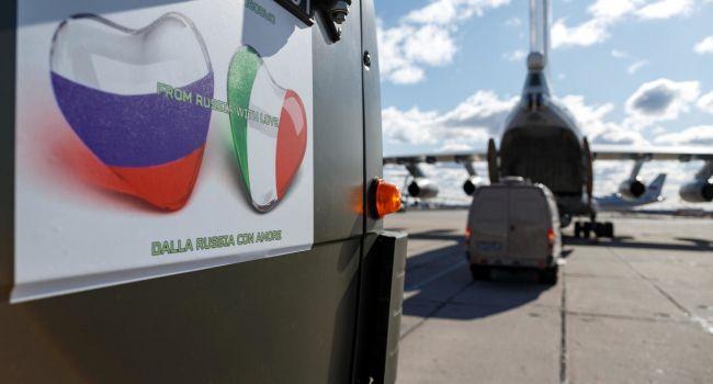 В Италии взбунтовались против «помощи Путина», и потребовали объяснений от власти - СМИ