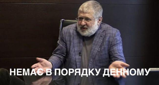 У президента нет политической воли: «Антиколомойский» закон не включен в повестку дня ВР на понедельник