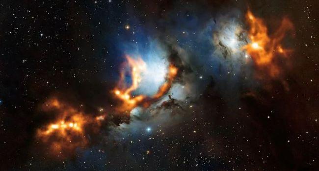 Впервые в науке: ученые показали снимки столкновения двух галактик