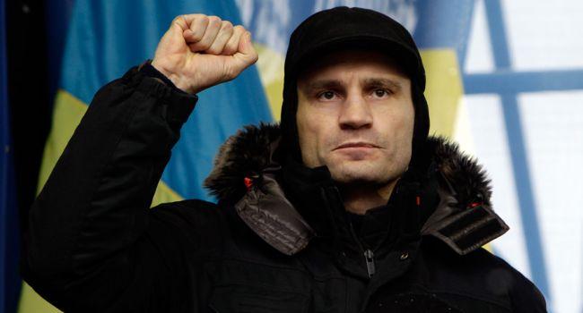 От Кличко, как одного из лидеров Майдана, требуют обнародовать свою позицию, относительно дела против Черновол
