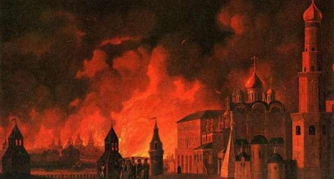 В этот день 1547 года произошел самый мощный пожар Москвы