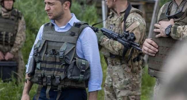 Портников: Интересно, на чем основана уверенность Зеленского, что он сможет завершить войну на Донбассе до конца своей каденции?