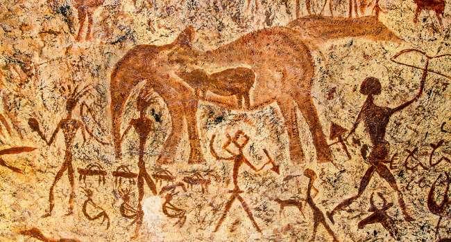 В одной из пещер Египта обнаружены уникальные наскальные рисунки