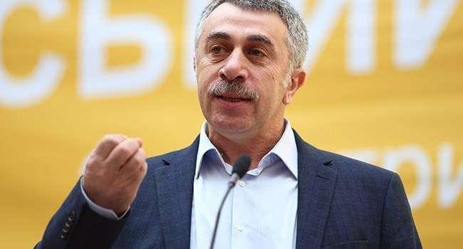 «Скорее убьете себя, чем убьете вирус»: Комаровский раскритиковал один из видов лечения коронавируса