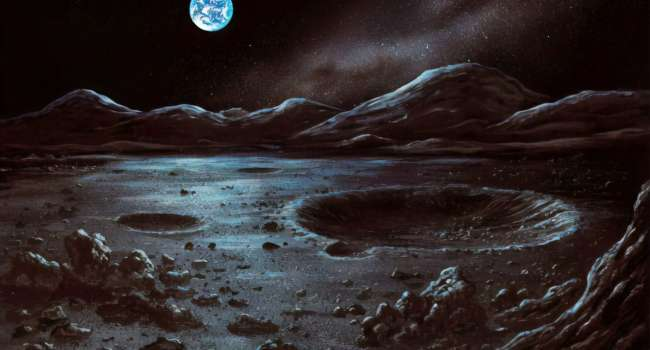 «Солнечный свет туда не попадает»: ученые нашли на Луне воду
