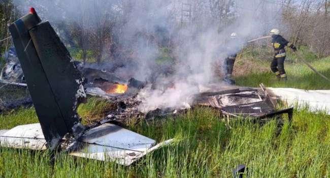 ЧП в Днепре: В результате падения самолета погибли люди