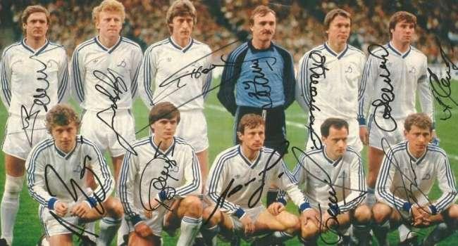 Это наша гордость: 34 года назад 2 мая 1986 года «Динамо» Киев второй раз в своей истории завоевало Кубок Кубков
