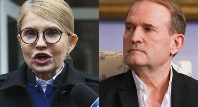 Тимошенко и Медведчук спешат на помощь: банкир рассказал о новой подлости украинских друзей «Газпрома»