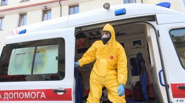 В двух западных областях Украины произошла вспышка коронавируса