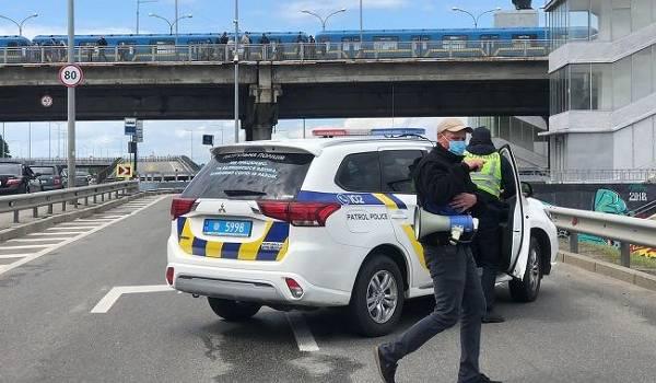 В Сети показали фото мужчины, угрожавшего подорвать мост Метро