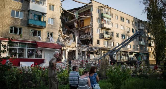 Российско-оккупационные войска атаковали мирное население Донбасса
