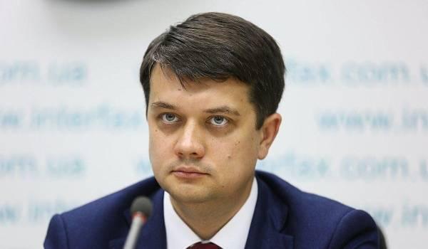 «С учетом позиций всех граждан»: Разумков рассказал о своем видении закона об украинском языке