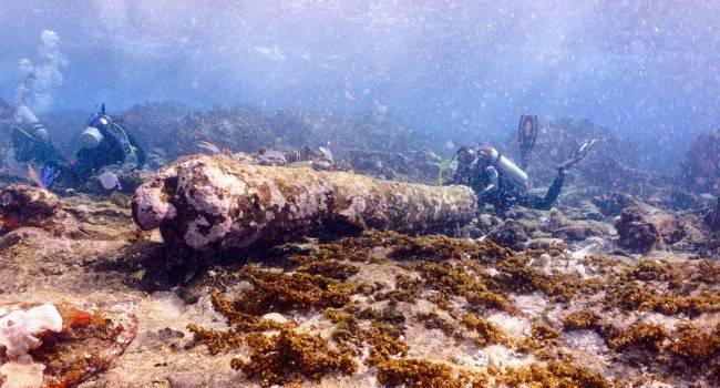 Рыбак из Мексики обнаружил обломки старинного корабля