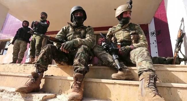 Местные жители Сирии развернули российский военный конвой