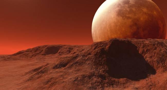 Похож на Сатурн и Юпитер: недалеко от Марса найдено пульсирующее кольцо