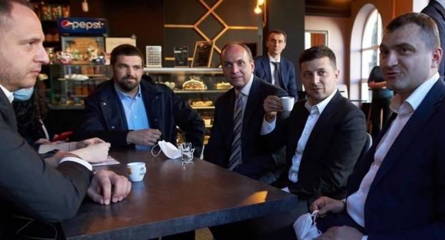 Так только в Украине может быть: в Хмельницком кафе карантин нарушил Зеленский, а штраф за нарушение оплатит владелец кафе